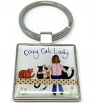 Přívěsek Crazy cat lady