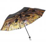 Deštník Klimt - Polibek (černý)