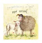 Přání k narození dítěte - Lamb