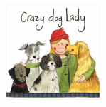 Magnetka Crazy dog lady