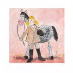 Obrázek Girl and horse