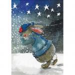 Utěrka AC - Footsteps rabbit - 45*65 cm