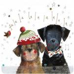 Podložka Christmas Singers; 10*10 cm