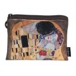 Peněženka mini - Klimt - Polibek