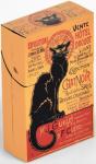 Krabička na cigarety Chat Noir Drouot