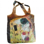 Skládací taška lehká Klimt - Polibek
