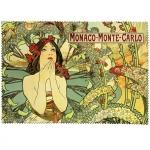Utěrka na brýle Mucha - Monaco Monte-Carlo