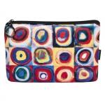 Kosmetická taštička Kandinsky - Studie barev