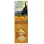 Záložka papírová Van Gogh - Pole s cypřiši
